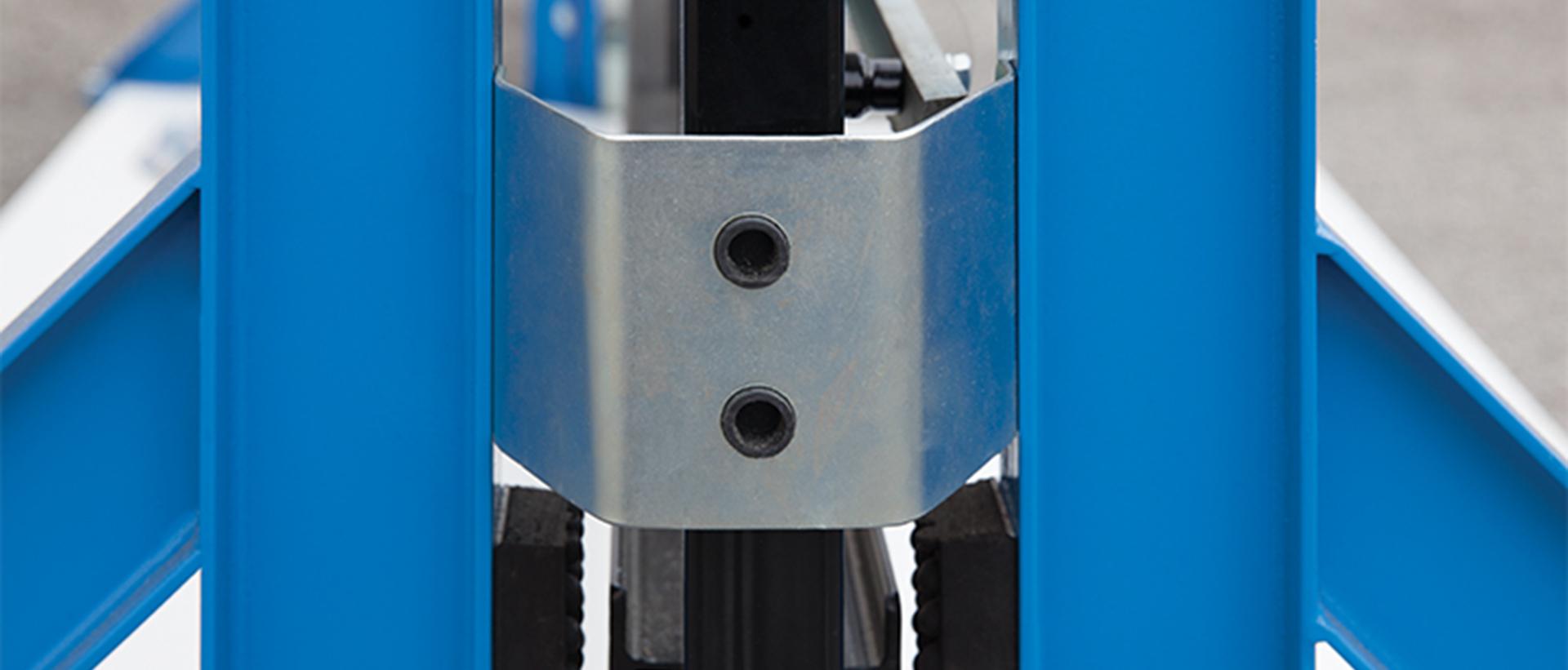 Γκαραζόπορτες, μηχανισμός για συρόμενες χωρίς οδηγό στο έδαφος