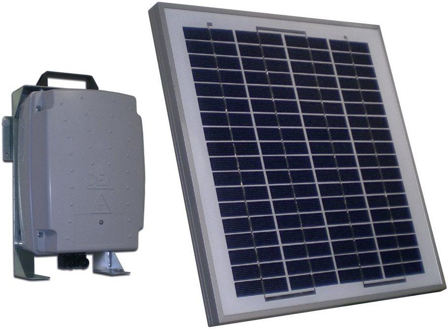 Ηλιακό πάνελ για γκαραζόπορτα